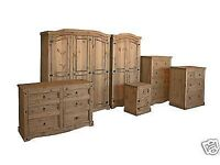 New Cheap Solid Wood Bedsides Chests of drawers Beds Wardrobes £49-£399 in stock today