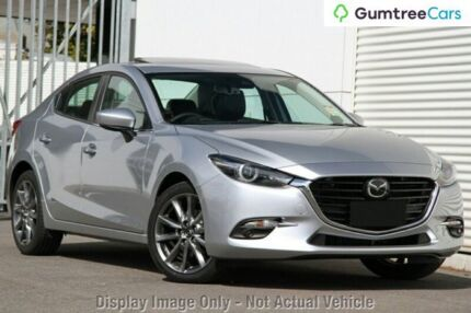 2017 Mazda 3 BN MY17 SP25 Astina Sonic Silver 6 Speed Automatic Sedan Liverpool Liverpool Area Preview