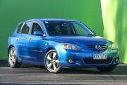 2005 Mazda 3 BK SP23 Blue 5 Speed Manual Hatchback Ringwood East Maroondah Area Preview