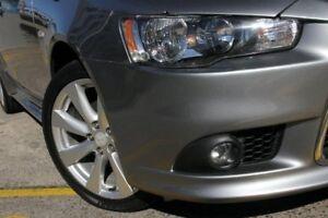 2014 Mitsubishi Lancer CJ MY14.5 GSR Sportback Grey 6 Speed CVT Auto Sequential Hatchback