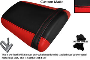 RED & BLACK CUSTOM FITS HONDA CBR 600 RR5 RR6 05-06 REAR SEAT COVER