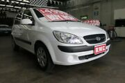2011 Hyundai Getz TB MY09 SX 5 Speed Manual Hatchback Mordialloc Kingston Area Preview