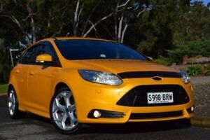 2012 Ford Focus LW MKII ST Orange 6 Speed Manual Hatchback St Marys Mitcham Area Preview