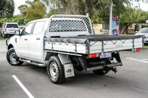 2014 Ford Ranger PX XL 3.2 (4x4) Cool White 6 Speed Automatic Dual C/Chas