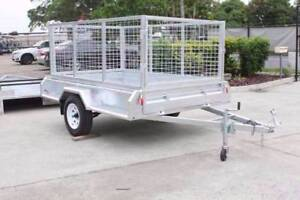 8x5 Heavy Duty Tandem Trailer with 900mmCage and spare wheel Coopers Plains Brisbane South West Preview