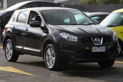 2013 Nissan Dualis J10W Series 4 MY13 ST Hatch X-tronic 2WD Black 6 Speed Constant Variable Ringwood East Maroondah Area Preview