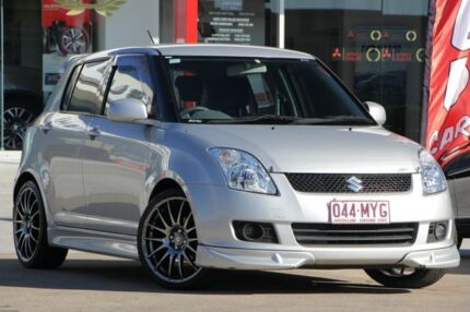 2009 Suzuki Swift RS415 GLX Silver 5 Speed Manual Hatchback Kippa-ring Redcliffe Area Preview