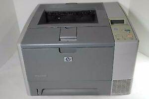 HP LaserJet 2420d laser Printer Black and White 30ppm 1200dpi workgroup usb
