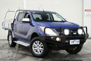 2014 Mazda BT-50 UP0YF1 XTR Blue 6 Speed Sports Automatic Utility Seaford Frankston Area Preview