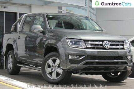 2017 Volkswagen Amarok 2H MY17 TDI550 4MOTION Perm Highline Indium Grey 8 Speed Automatic Utility