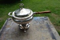 Silver Plated Sterno Heating Pot
