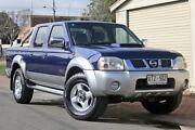 2008 Nissan Navara D22 MY2008 ST-R Blue 5 Speed Manual Utility Glenelg Holdfast Bay Preview