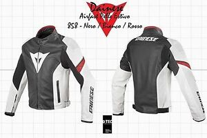 JACKET DAINESE Airfast perforated motorcycle leather jacket