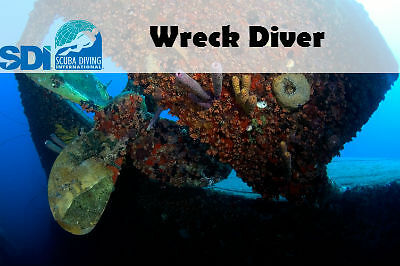 Sdi Online Wreck Diver Elearning Code