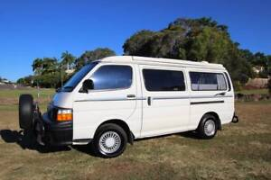 Toyota Hiace Campervan Automatic Diesel Discoverer