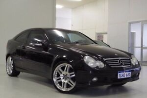 2003 Mercedes-Benz C180 Kompressor CL203 MY2003 Sports Black 5 Speed Automatic Coupe Myaree Melville Area Preview