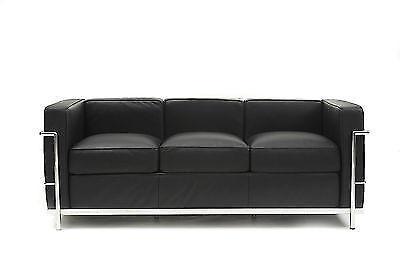 Le Corbusier LC2 Style Sofa