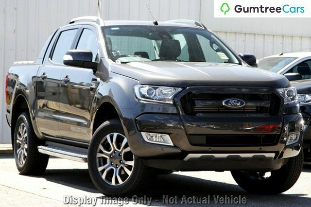 2017 Ford Ranger PX MkII Wildtrak Double Cab Magnetic 6 Speed Sports Automatic Utility