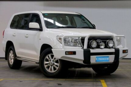 2007 Toyota Landcruiser UZJ200R GXL White 5 Speed Sports Automatic Wagon