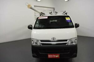 2011 Toyota Hiace KDH201R MY11 Upgrade LWB White 5 Speed Manual Van