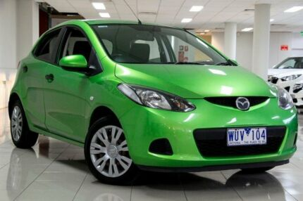 2008 Mazda 2 DE10Y1 Neo Spirited Green 5 Speed Manual Hatchback South Melbourne Port Phillip Preview