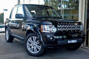 2012 Land Rover Discovery 4 Series 4 MY12 SDV6 CommandShift SE Santorini Black 6 Speed Doncaster Manningham Area Preview