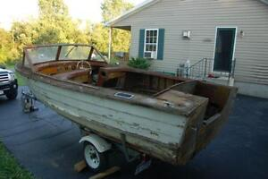 Wooden lapstrake Boat wanted