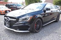 2014 Mercedes-Benz CLA45 Performance Package