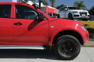 2015 Mitsubishi Triton MN MY15 GLX Double Cab Red 5 Speed Manual Utility