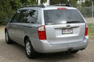 2006 Kia Carnival MY04 LS Silver 4 Speed Automatic Wagon
