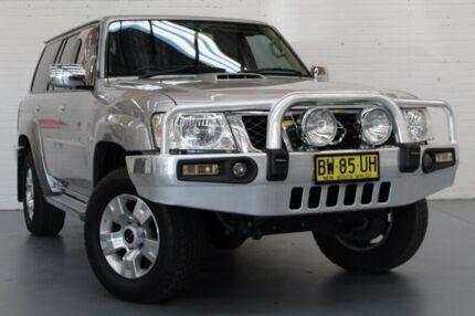 2013 Nissan Patrol Y61 GU 8 ST Silver 4 Speed Automatic Wagon