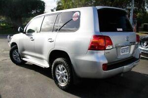2013 Toyota Landcruiser VDJ200R MY13 GXL Silver Pearl 6 Speed Sports Automatic Wagon