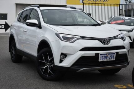 2016 Toyota RAV4 ZSA42R GXL 2WD Glacier White 7 Speed Constant Variable Wagon