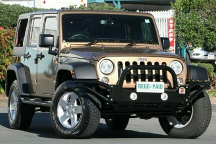 2014 Jeep Wrangler JK MY2015 Unlimited Sport Brown 5 Speed Automatic Softtop