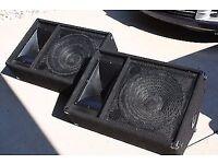 Yamaha SM12V Passive Monitor PA or DJ Speakers Pair