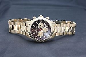Michael Kors Men's Watch Layton Chronograph Gold
