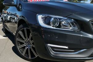 2016 Volvo V60 F Series MY16 T5 Geartronic Luxury Savile Grey 8 Speed Sports Automatic Wagon