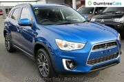 2015 Mitsubishi ASX XB MY15.5 LS 2WD Blue 6 Speed Constant Variable Wagon Hillcrest Logan Area Preview