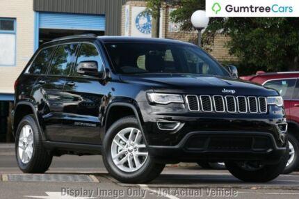 2017 Jeep Grand Cherokee WK MY17 Laredo 4x2 Diamond Black 8 Speed Sports Automatic Wagon