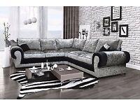Brand new large corner sofa few left