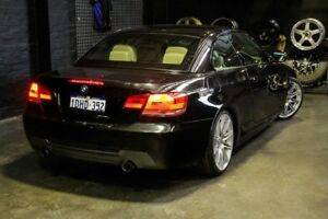 2010 BMW 335i E93 MY11 M Sport D-CT Black 7 Speed Sports Automatic Dual Clutch Convertible
