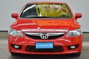 2009 Honda Civic 8th Gen MY09 VTi-L Red 5 Speed Automatic Sedan Brooklyn Brimbank Area Preview
