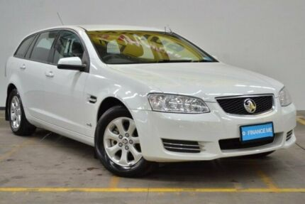 2012 Holden Commodore VE II MY12 Omega Sportwagon White 6 Speed Sports Automatic Wagon