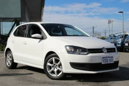 2012 Volkswagen Polo White Sports Automatic Dual Clutch Hatchback