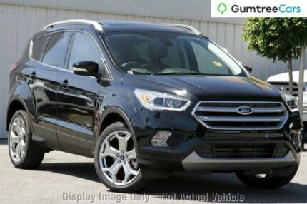 2017 Ford Escape ZG Titanium AWD Shadow Black 6 Speed Sports Automatic Wagon Wangara Wanneroo Area Preview