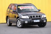 2001 Subaru Forester 79V MY01 Special Edition AWD GX Black 4 Speed Automatic Wagon Heatherton Kingston Area Preview