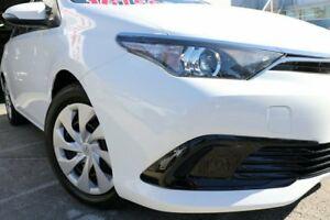 2015 Toyota Corolla ZRE182R Ascent S-CVT Glacier 7 Speed Constant Variable Hatchback