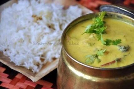 (Full plate )Punjabi karhi chawal -$10  ,rajma chawal - $10