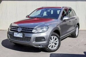 2012 Volkswagen Touareg Black Sports Automatic Wagon Dandenong Greater Dandenong Preview