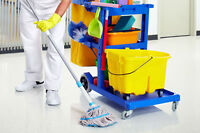 Looking for full and part time commercial cleaners